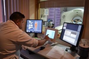 Estación de trabajo de Tomografía Multicortes.