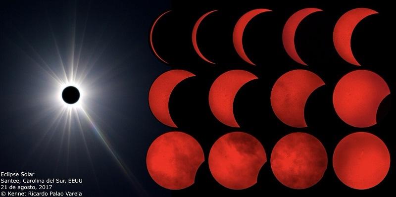 Radiólogo de DIAGNOS toma impresionantes fotografías del eclipse solar